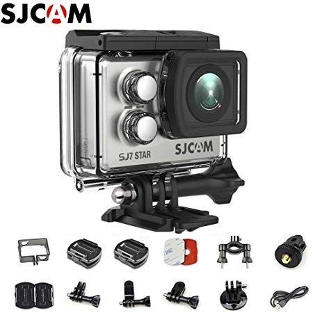 Filmadora SJCAM ActionCam SJ7 Star Silver Wi-Fi 16MP Vídeo 4K