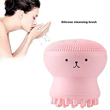 Hansel Mini Cartoon Face Cleanser Tools Pore Clean Silicone Cleansing Brush Amazon In Beauty