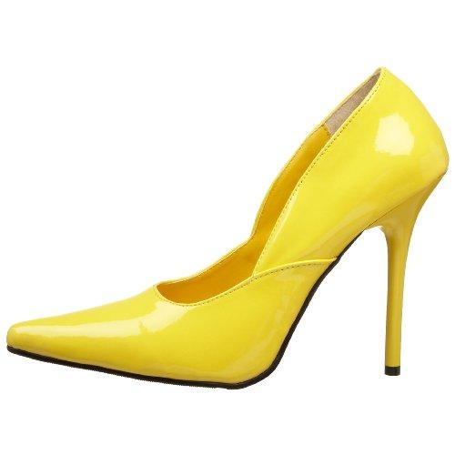 Milan Pleaser Para 01 Zapatos Amarillo Mujer 7d4xdnUY