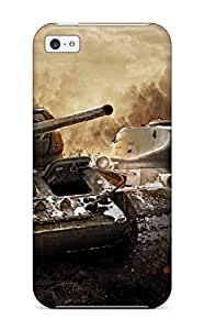 Ideal AmandaMichaelFazio Case Cover For Iphone 5c(t 34 & T 34 85 In World Of Tanks), Protective Stylish Case