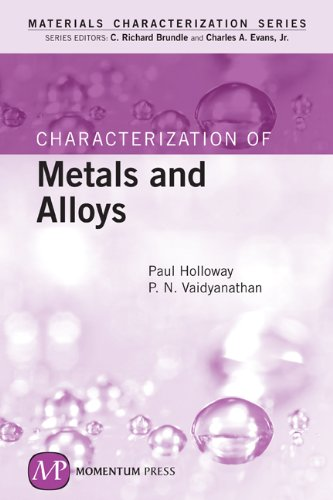 Characterization of Metals and Alloys [Materials Characterization Series]