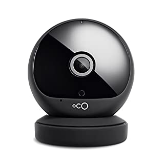 Oco 2 Full HD 1080p Wireless Security Camera System with SD Card support and Cloud Storage, Two-Way Audio and Night Vision, Video Monitoring Surveillance Camera (1-Pack)