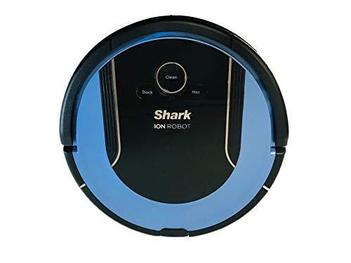 Lutema Shark ION Robot Vacuum Cleaning System S86 (Ice Blue) with Wi-Fi App Controlled & Smart Sensor Navigation 2.0 | Hepa Anti-Allergen RV852 (Renewed)