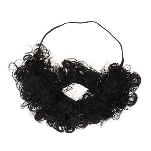 70s 80s Beard Fake Mustache Fun Macho Facial Hair Mens Cosplay Kits