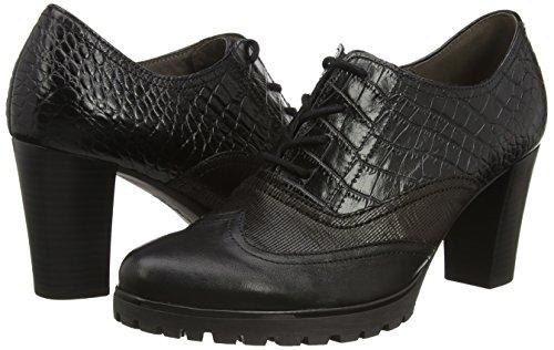 Nero Leather Rendezvous Gabor Tacco black Col Croc black Donna Scarpe vTqRw6