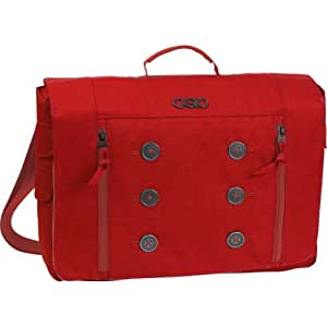 OGIO Women's Midtown Laptop/Tablet Messenger Bag, One size, Red