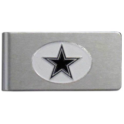 Siskiyou NFL Dallas Cowboys Brushed Money Clip - Dallas Cowboys Money Clip