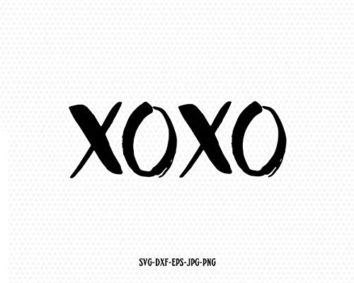 Moira XOXO vinly Decal Hugs and Kisses vinly Decal Valentines Day Valentines Toddler Frame vinly Decal Cameo Decal Sticker