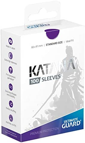 100 ULTIMATE GUARD KATANA TURQUOISE STANDARD SIZE Card SLEEVES Deck Protector