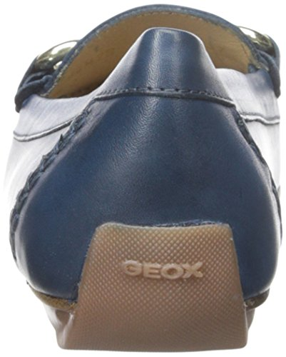Geox Womens D Italy Penny Loafer Dark Royal