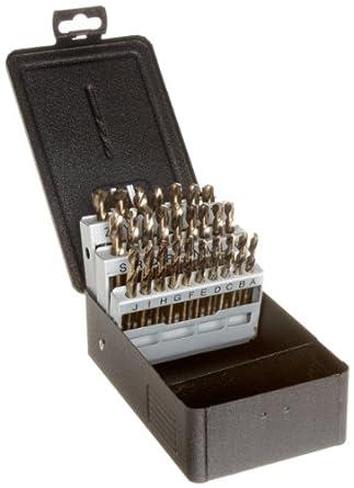 Cobalt Drill Bit Set >> Precision Twist C26M42CO Cobalt Steel Short Length Drill ...