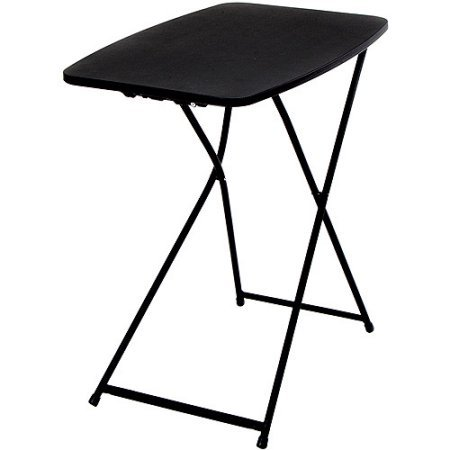 Mainstays 26″ Personal Folding Table, Black (1)