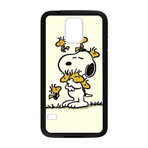 Peanuts and Snoopy Samsung Galaxy S5 Soft Cases-Cosica Provide Superior Cases For Samsung Galaxy S5 (Snoopy S5 Case)