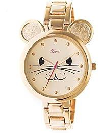 Mignonne Quartz Gold Bracelet Women's Watch