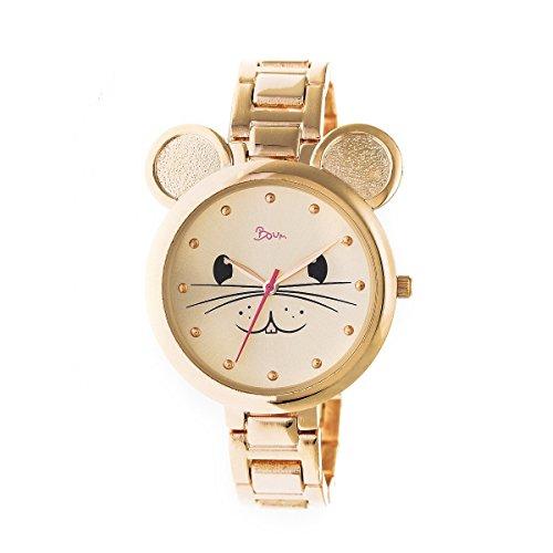 Boum Mignonne Quartz Gold Bracelet Women's Watch (Women Watches Boum)