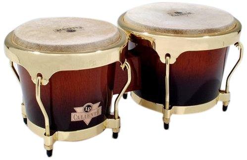 Latin Percussion LPC701-TSB Caliente Wood Bongos (Tobacco Burst)