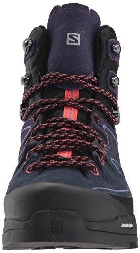 GTX W Black Chaussures Coral Hautes LTR Salomon Alp Punch Mid Randonnée X Nightshade Grey Femme Noir 000 de RXx7qI