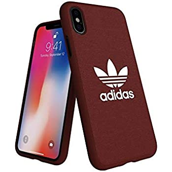 adidas Originals Moulded Case Compatible with iPhone X/XS - Red