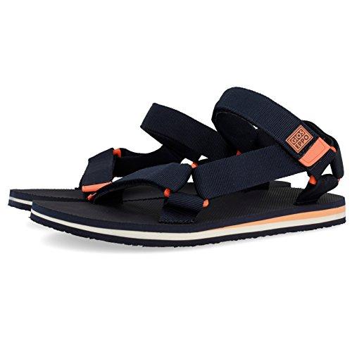 43539 Men Blue Blue Toe Open Marino Sandals Marino Gioseppo z6xSqfS