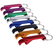 Key Chain Beer Bottle Opener / Pocket Small Bar Claw Beverage Keychain Ring 3 / 6 / 12Pcs,Sunward (3 piece)