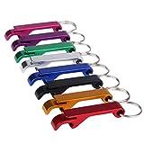 Key Chain Beer Bottle Opener / Pocket Small Bar Claw Beverage Keychain Ring 3 / 6 / 12Pcs,Sunward (6 piece)
