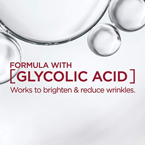 41rlu2MOIxL - Face Moisturizer with SPF 30 by L'Oreal Paris, Revitalift Bright Reveal Anti-Aging Day Cream with Glycolic Acid, Vitamin C & Pro-Retinol to Reduce Wrinkles & Brighten Skin, 1 fl. oz.