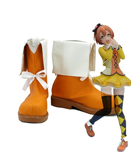 Lovelive! Love Live SUNNY DAY SONG Rin Hoshizora Cosplay Shoes Boots Custom Made