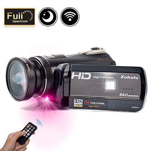 2018 Wifi Full Spectrum Camcorder
