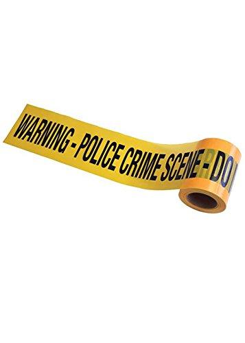 Halloween Crime Scene Warning Tape Decoration