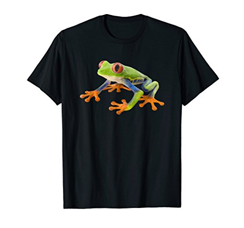 (Red Eyed Tree Frog Shirt - Agalychnis)