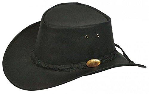 Kangaroo Leather Hat Jacaru men´s hat genuine leather hat (L 57-58 ... ec32d582190a
