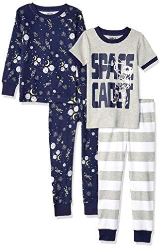 Spotted Zebra Kids 4-Piece Snug-...