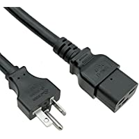 ACP1032 USA NEMA 6-20 Plug to IEC C19 SJT 6 Foot (1.83 Meters) 20A 250V Power Cord with UL Certification