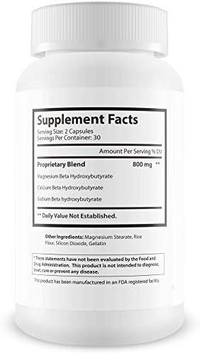Advanced Ketones - Advanced Formula - Keto Diet Pills - Boost Ketosis with These Magnesium Bhb Exogenous Ketones - Burn More Fat - Burn Fat Faster - Stay in Ketosis Longer - Feel Mentally Focused 3