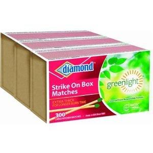 Diamond Brands, 300 Count, 3 Strike on Box Matches, ()