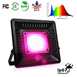 LED Grow Light Full Spectrum, 150W Relassy Waterproof COB LED Grow Light with Natural Heat Dissipation and Without Noise Perfect for Outdoor/Indoor Plants All Growing