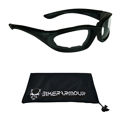 Motorcycle Safety Glasses Foam Padded for Women, Boys and Girls. Alfer regular - Glasses With Girl Thick