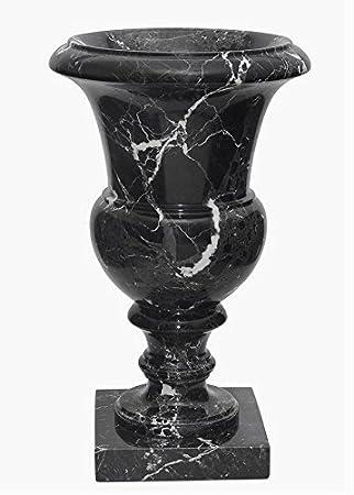 Amazon Tall Black Marble Planter Urn Decorative Stone Planter