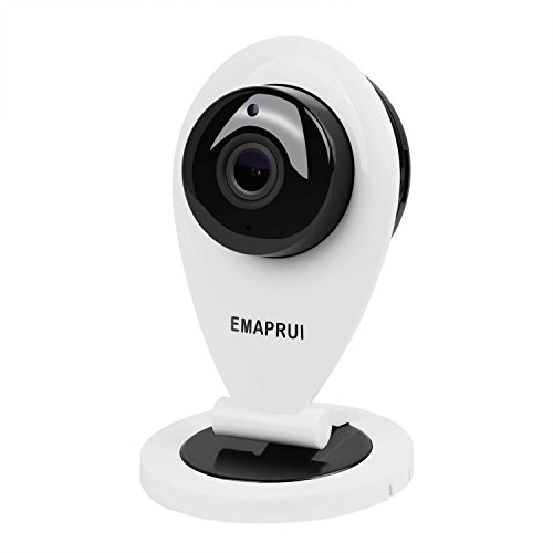 EMAPRUI Baby Monitor Camera,Pet Camera, Security Camera,Two Way Audio,Supports 64G Micro SD Card,HD 720P ()