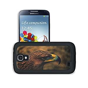 Animals Eagles Hawk Falcon Wild Samsung Galaxy S4 Snap Cover Leather Design Back Plate Case Customized Made to Order Support Ready 5 3/16 inch (132mm) x 2 13/16 inch (71mm) x 4/8 inch (12mm) MSD Galaxy_S4 Professional Leather Plastic Cases Touch Accessori