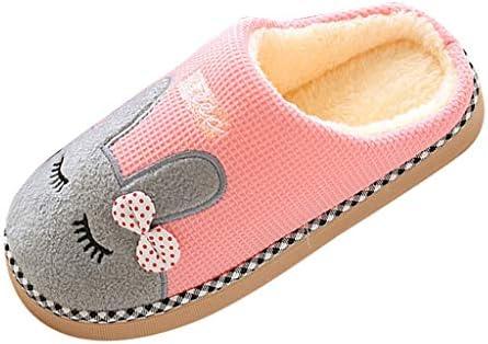 ZONGLIAN スリッパ 冬 室内 レディース メンズ 可愛い ウサギ柄 洗える あたたかい ルームシューズ もこもこ フワフワ 柔らかい 春 なつ 秋と冬の屋内家のスリッパ 洗える靴