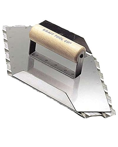 Kraft Tool CC088 13-1/2-Inch by 5-1/2-Inch Safety Ramp Walking Right Grover
