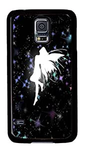 iCustomonline 3D Angel Live Designed Case Cover for Samsung Galaxy S5 I9600 PC Black