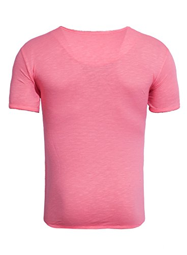 Summer Tanaka Cama Camiseta Basic Fuchsia eu Man Akito Modern New CTv8w6Fx