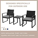 Skiway 3-Pieces Outdoor Patio Set All Weather