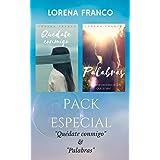 """PACK ESPECIAL: Quédate conmigo & Palabras """"Una breve historia de los que se van"""" (Spanish Edition)"""