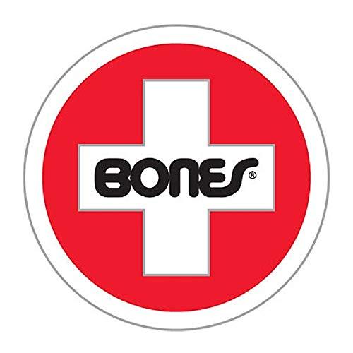 (Bones Bearings Skateboard Swiss Round Ramp Sticker (Extra Large)