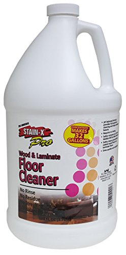 STAIN-X PRO Wood and Laminate Floor Cleaner Concentrate - 128 oz ()