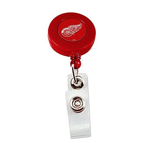 Detroit Red Wings Retractable Badge Reel NHL