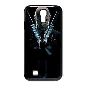 Hitman Absolution 17 funda Samsung Galaxy S4 9500 caja funda del teléfono celular del teléfono celular negro cubierta de la caja funda EEECBCAAG16734